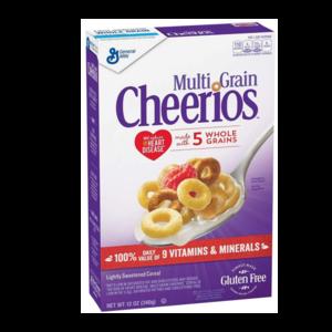 General Mills Cheerios Multigrain Large, 340g