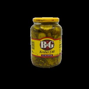 B&G B&G Kosher Dill Chips, 946ml