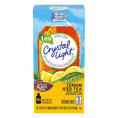 Crystsal Light On The Go Lemon Iced Tea, 19g