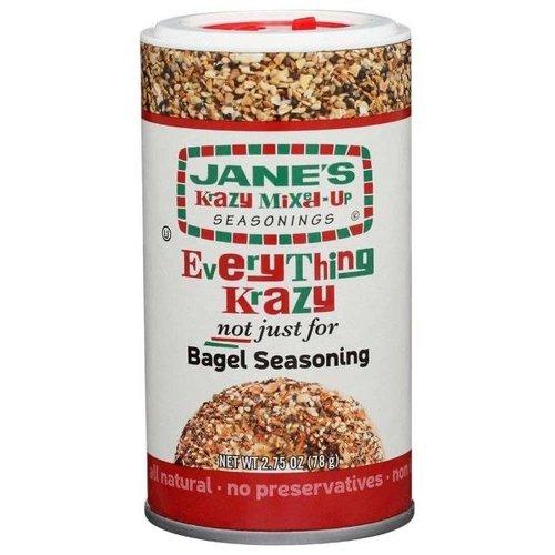 Jane's Krazy Everything Krazy Bagel Seasoning, 78g