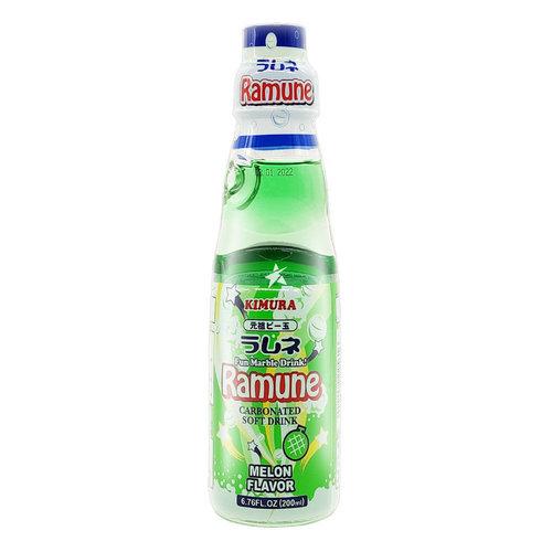 Kimura Ramune Melon Flavor, 200ml