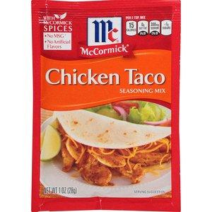 McCormick Chicken Taco Seasoning, 28g