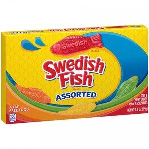 Swedish Fish Assorted, 99g