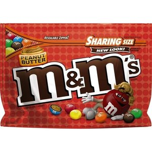 M&M M&M Peanut Butter Sharing Size, 272g