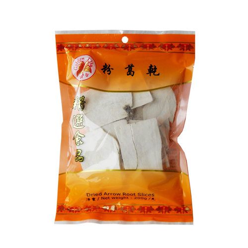 Dried Arrow Root Slices, 200g