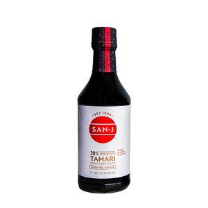 San-J San-J Organic Tamari Less Sodium Soy Sauce, 592ml