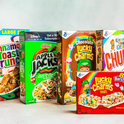 American breakfast cereals.