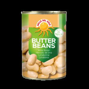 Valle Del Sole Butter Beans, 400g