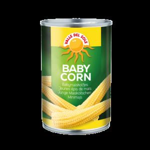 Valle Del Sole Baby Corn, 400g