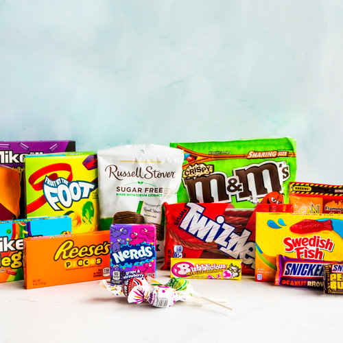 America's favourite chocolate and candies.