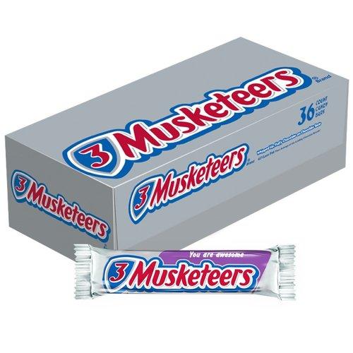 Doos 3 Musketeers, 36x54g