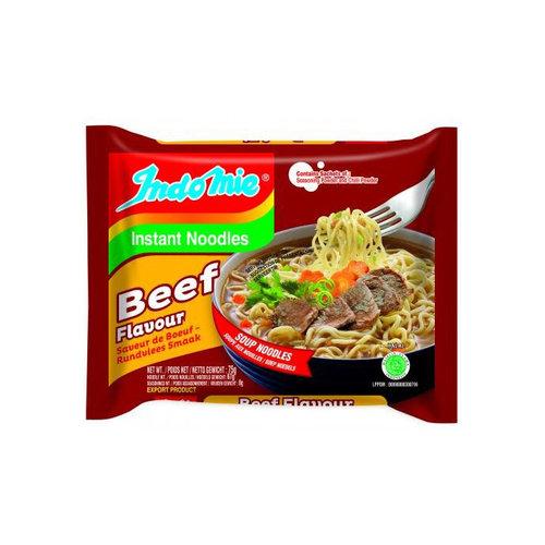 Indomie Instant Noodles Beef Flavour, 80g