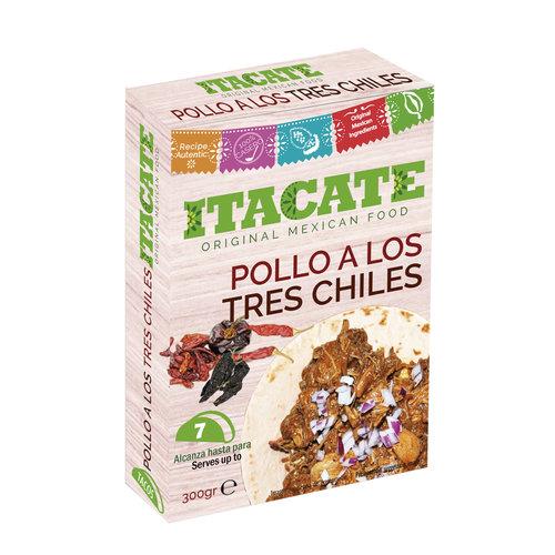Itacate Pollo A Los Tres Chiles, 300g