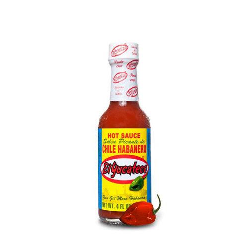 El Yucateco Salsa Picante Red Habanero, 120ml