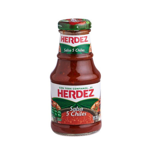 Herdez Salsa 5 Chiles, 255g