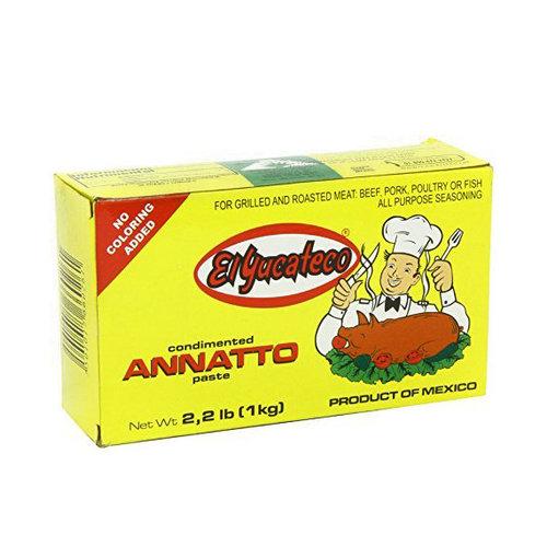 El Yucateco Achiote Pasta, 1kg