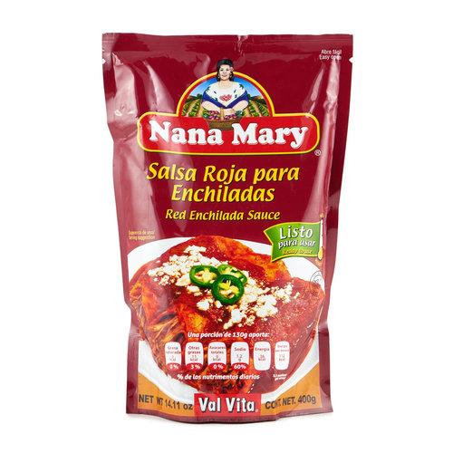 Nana Mary Salsa Enchilada Roja, 400g