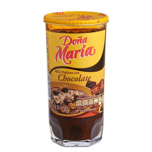 Dona Maria Mole Poblano Con Chocolate, 235g