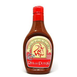 Real del Potosi Cajeta Quemada Squeeze Bottle, 660g