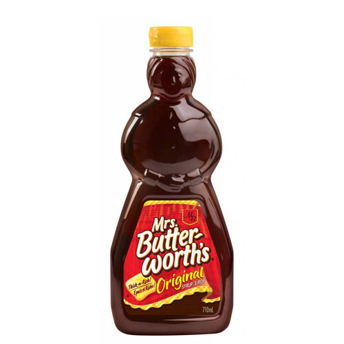 Mrs. Butterworth Original Syrup, 710ml