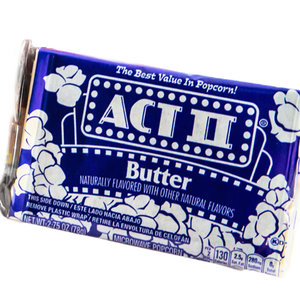 ACT II Microwave Butter Popcorn, 78g