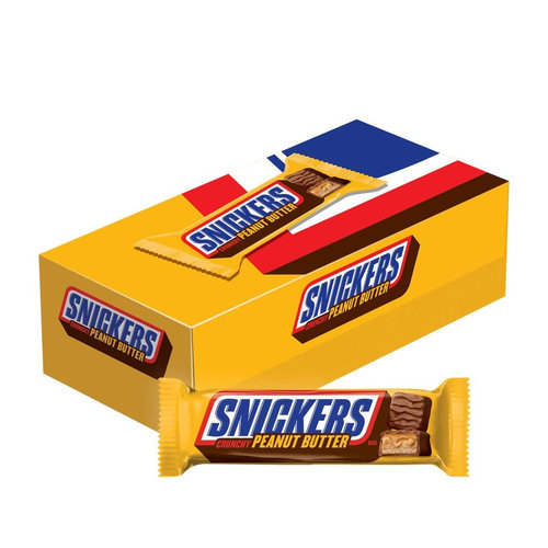 Snickers Peanut Butter Box, 18x50g