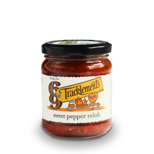 Tracklements Cucumber & Sweet Pepper Relish, 220g