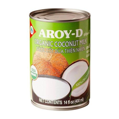 Aroy-D Organic Coconut Milk, 400ml