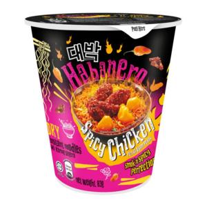 Daebak Habanero Spicy Chicken Cup Noodle, 83g