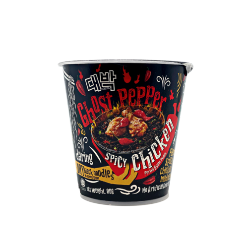 Daebak Ghost Pepper Spicy Chicken Cup Noodle, 80g