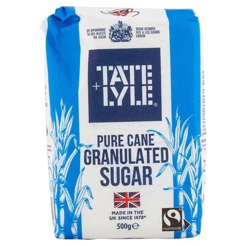 Tate & Lyle Pure Cane Granulated Sugar, 500g