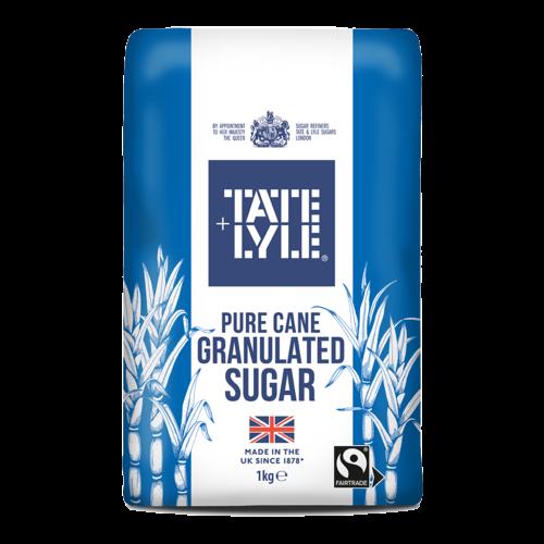 Tate & Lyle Pure Cane Granulated Sugar, 1kg