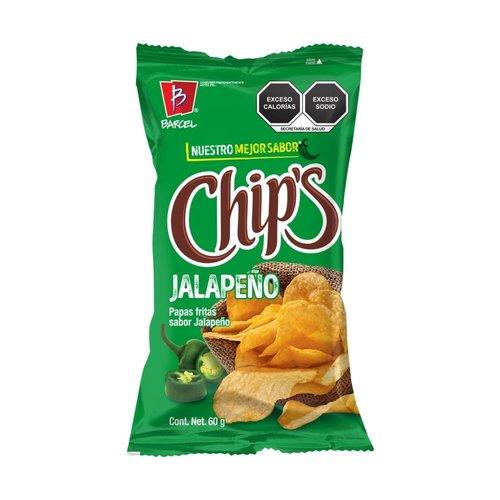 Barcel Chips Sabor Jalapeno, 60g Best before 25-08-21
