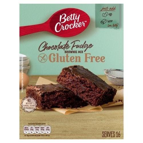 Betty Crocker Chocolate Fudge Glutenvrije Brownie Mix, 415g