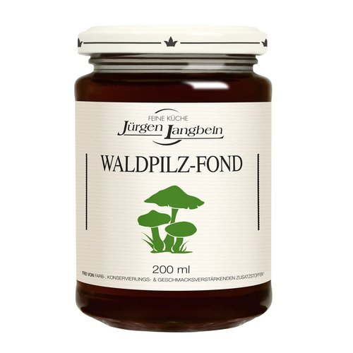 Jurgen Langbein Waldpilz-Fond, 200ml