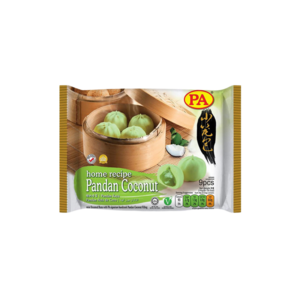 PA Food PA Steamed Buns Pandan Coconut Filling, 270g
