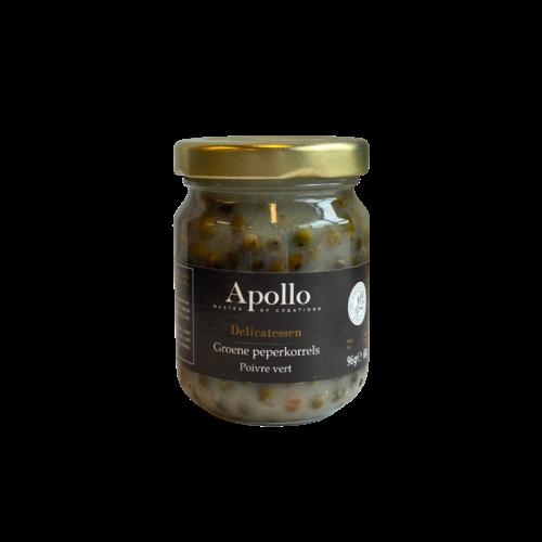 Apollo Groene Peperkorrels, 96g