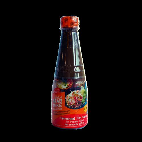 Zab Mike Fish Sauce for Papaya Salad, 350ml