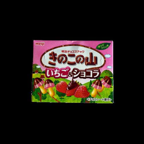 Meiji Kinoko No Yama Strawberry, 43g