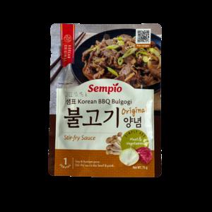 Sempio Sempio BBQ Bulgogi Sauce, 75g