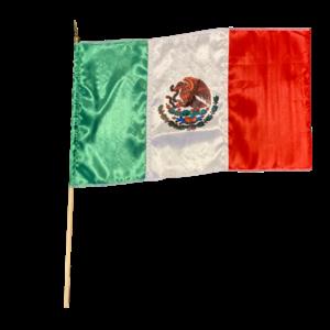 Mexican Flag, 33x58cm