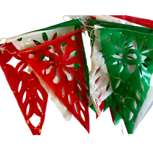 Mexican tricolor decoration, 8meter