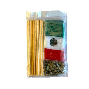 Mexican Flag set, 25st