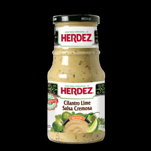 Herdez Herdez Salsa Cremosa Cilantro Lime, 434g Best before: SEP2021
