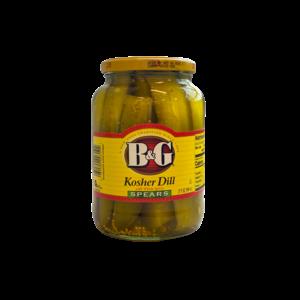 B&G B&G Kosher Dill Spears, 946ml