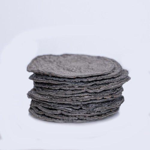 Taiyari BLAUWE Biologische Tortillas, 12 stuks