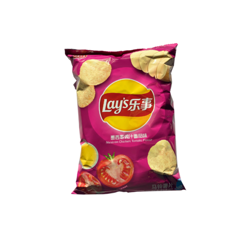 Lay's Mexican Chicken Tomato Flavour Chips, 70g