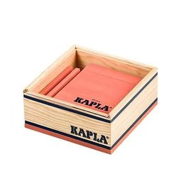 Kapla Kapla 40 roze plankjes in kistje