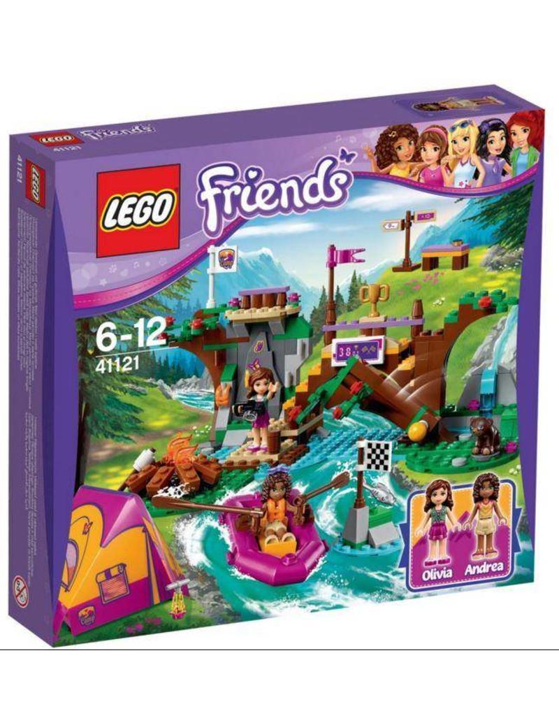 LEGO LEGO Friends 41121 - Avonturenkamp Wildwatervaren