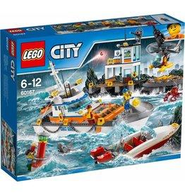 LEGO LEGO City 60167 - Kustwacht Hoofdkwartier